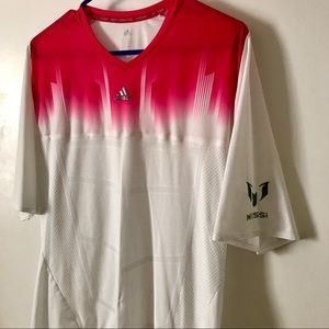 Adidas Messi Pink/White Ombré Shirt size M